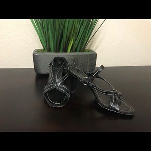 Cole Haan Black Leather sandal
